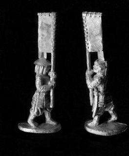Ral Partha Historical 25mm Samurai 53-786 Infantry Standard Bearers (x 2)